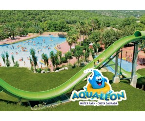 ¡Combate el calor disfrutando en Aqualeon Water Park!